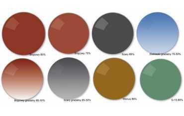 Przeciwsłoneczne szkła zerówki - Lekkie i Bezpieczne