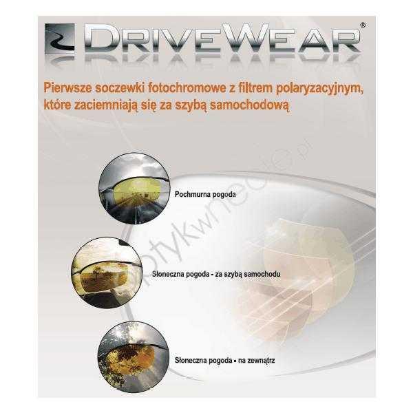 fotochromy z polaryzacją dla kierowców Drivewear