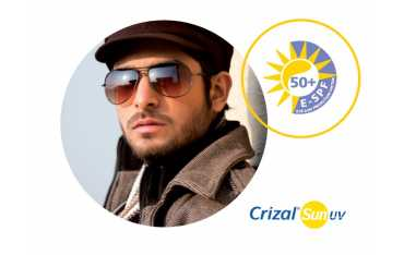 Cienkie szkła przeciwsłoneczne Ormix 1,6 Sun Crizal Sun cylinder 3, 4