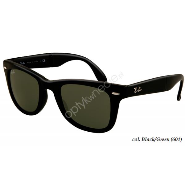 okulary przeciwsłoneczne ray-ban wayfarer folding rb 4105 601/58