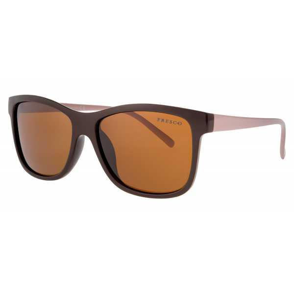 okulary przeciwsłoneczne z polaryzacją Fresco FS 321-2 brązowe