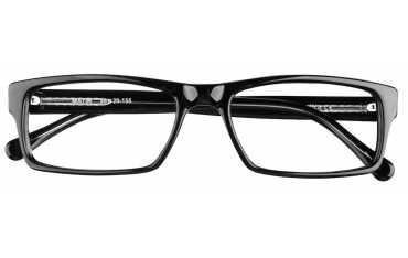 męskie okulary korekcyjne oprawki Matin czarne  Dek Optica