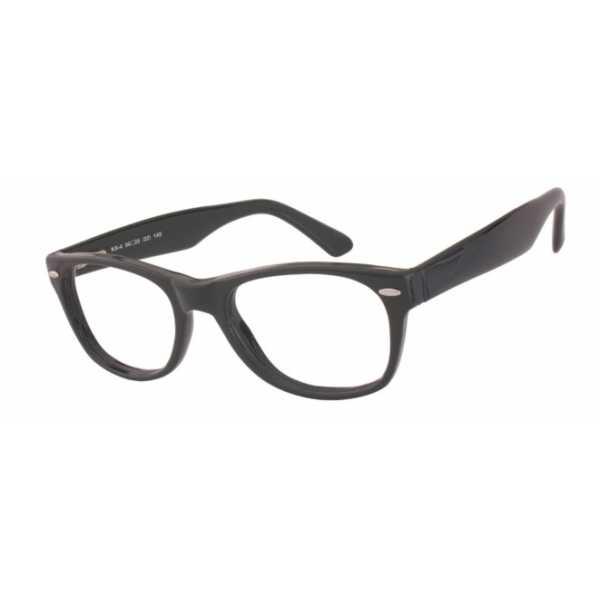 oprawki okulary korekcyjne Kamex KX-4 czarne a'la Wayfarer kujonki