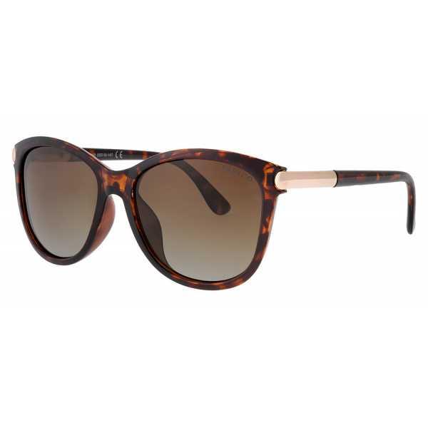 okulary przeciwsłoneczne z polaryzacją Fresco FS 410-2 brązowe