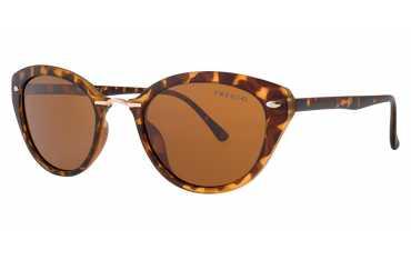 okulary przeciwsłoneczne z polaryzacją Fresco FS 084-2 szylkretowe, brązowe