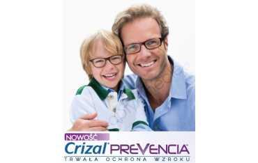 szkła polwęglanowe policarbonowe dla dzieci Airwear Junior Crizal Prevencia z filtrem Blue