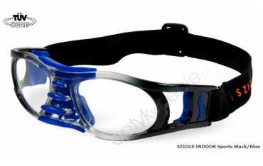 okulary sportowe Sziols Indoor Sports w rozmiarze M dla młodzieży i dorosłych kolor Blue