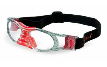 okulary sportowe Sziols Indoor Sports w rozmiarze M dla młodzieży i dorosłych kolor Carbon Red