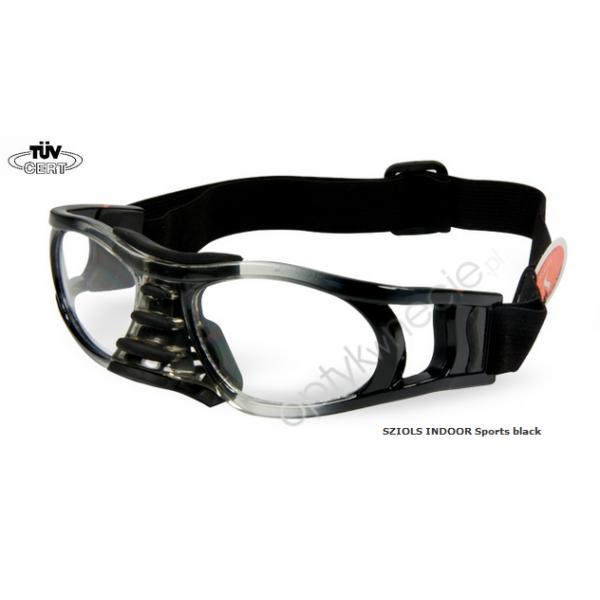 okulary sportowe Sziols Indoor Sports w rozmiarze L dla dorosłych kolor Black