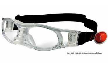 okulary sportowe Sziols Indoor Sports w rozmiarze L dla dorosłych kolor Cristall Clear