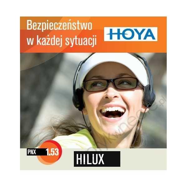 Szkła korekcyjne z materiału Trivex Hoya Hilux PNX 1,53 HVL