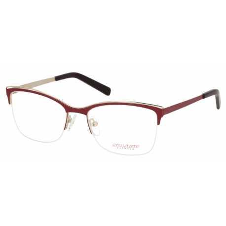 4e49a9bd2994 Oprawki okulary korekcyjne damskie Solano S 10286 B różowo-złote
