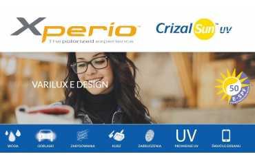 Varilux E Design poliweglanowe szkła progresywne z polaryzacją dla kierowców