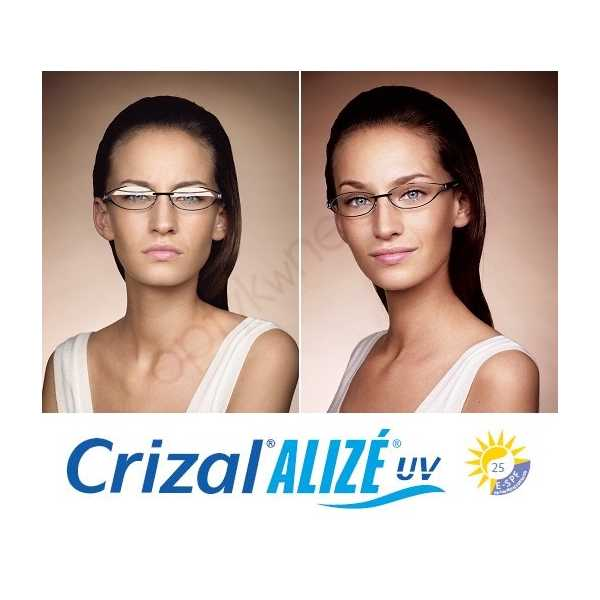 Szkła z trivexu Trexa Crizal Alize UV