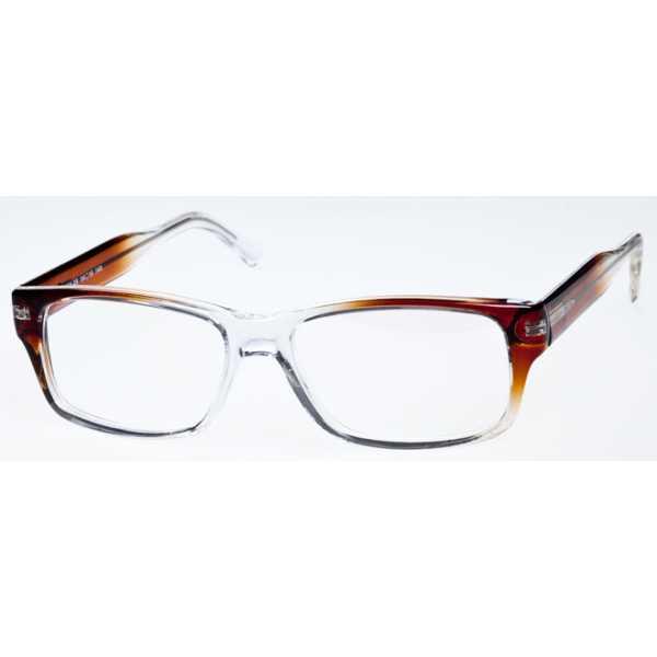 męskie oprawki okularowe kamex kx-28 brązowe