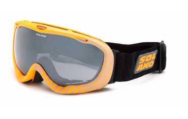 Solano SP 40004 C - gogle z wkładką korekcyjną pomarańczowe szyba szara