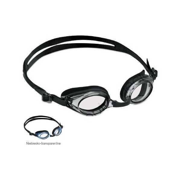 Okulary do pływania z korekcja sfera cylinder plus i minus
