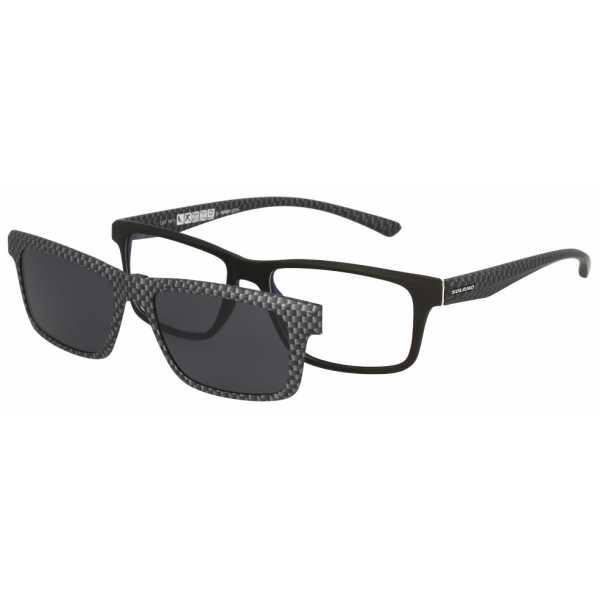 oprawki okulary korekcyjne z nasadką - nakładką przeciwsłoneczną solano cl 30007 f