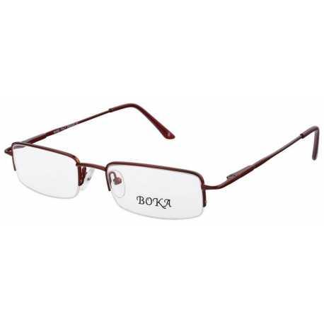 męskie oprawki okulary korekcyjne Boka 356 c3 kolor bordowy
