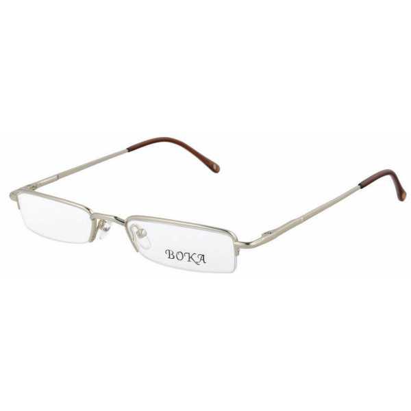 męskie oprawki okulary połówki do czytania korekcyjne Boka 364 c2 kolor złoty