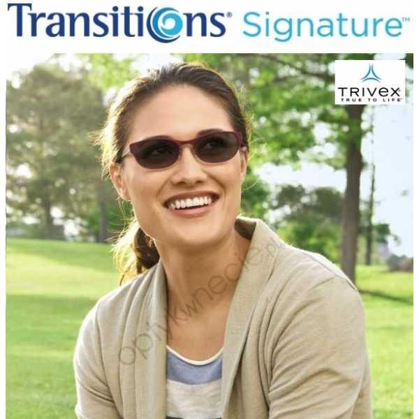 szkła fotochromowe Trivex Shamir Transitions VII