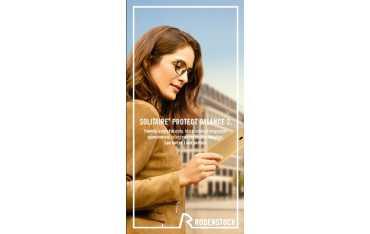 Perfalit 1.6 Solitaire Protect Balance 2 - cienkie szkła filtrujące promieniowanie niebieskie