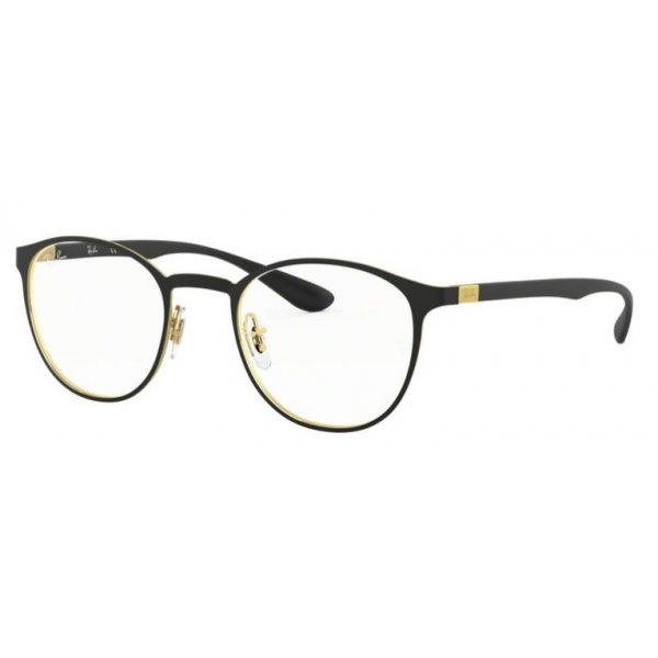 oprawki okulary korekcyjne ray-ban rb 6355 2994 gold on the top matte black