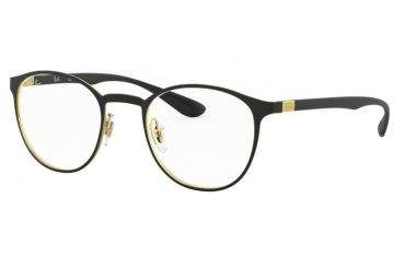 oprawki okulary korekcyjne ray-ban rb 6355 2994 gold on the top matte black