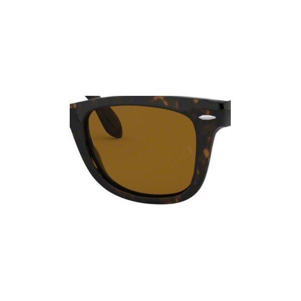 oryginalne szkła do ray-ban wayfarer folding rb 4105 brązowe