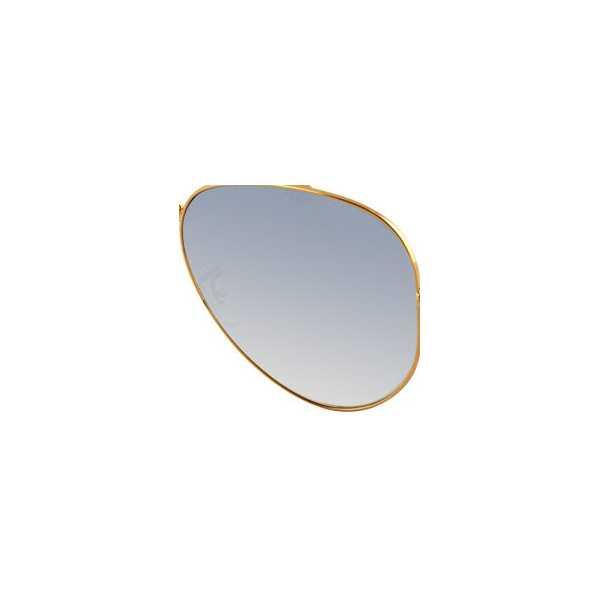 szkła niebieskie cieniowane gradalne do ray ban aviator 001/3f