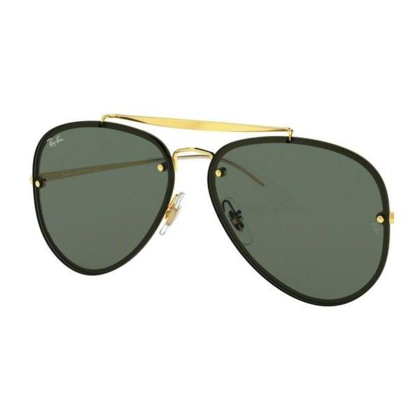 szkła wymienne do ray-ban blaze aviator rb 3584 n zielone