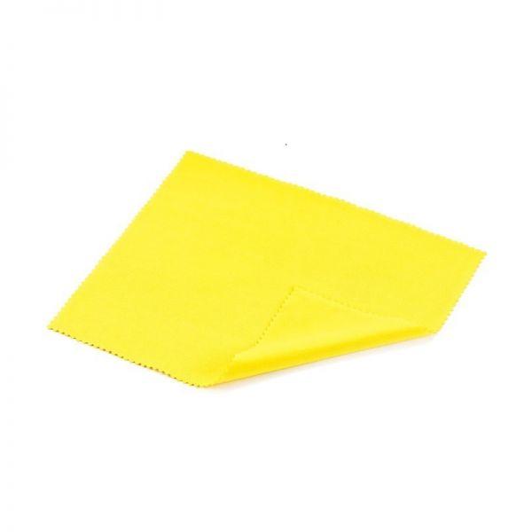 ściereczka do szkieł okularów z mikrofazy mikrowłókna żółta