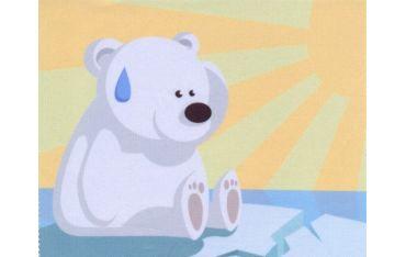 Ściereczka mikrofazowa - miś polarny