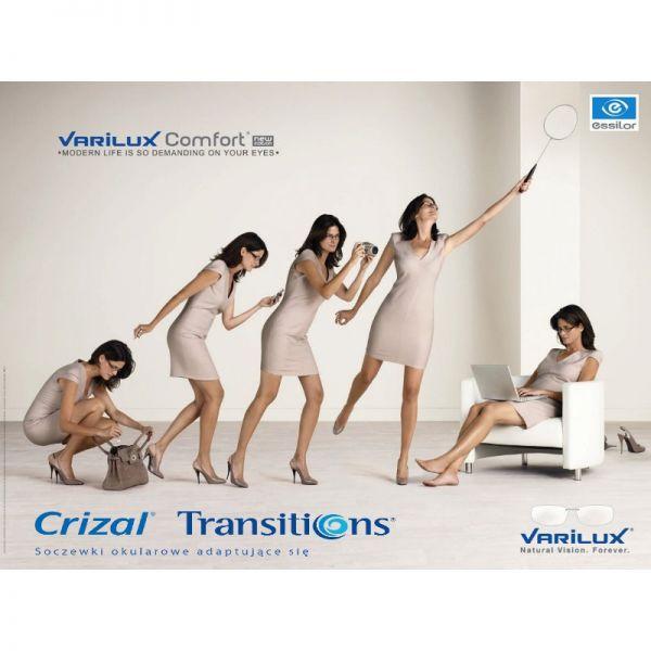 Variux Comfort 3.0 Transitions VII Crizal Alize UV - komfortowe soczewki progresywne
