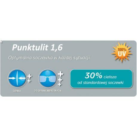 cienkie szkła plastikowe indeks 1.6 Punktulit Super AR plus Rodenstock