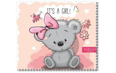 Ściereczka mikrofazowa - It's a Girl