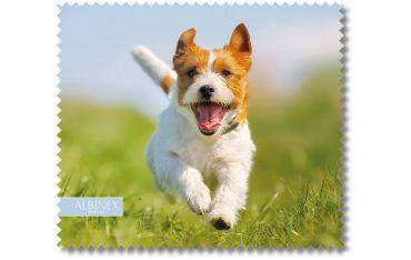 Ściereczka mikrofazowa - biegnący pies