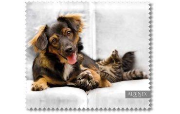 Ściereczka mikrofazowa - psiak z kociakiem 2