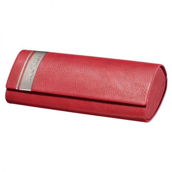 etui futerał Albinex na okulary Royal case 80.046 cc czerwone