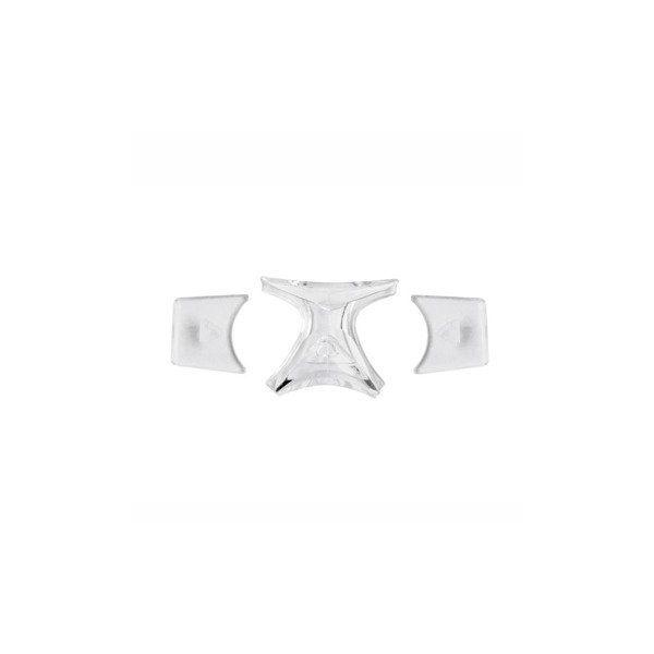 wkładki silikonowe ochraniacze do okularów sportowych Leader Bounce Junior