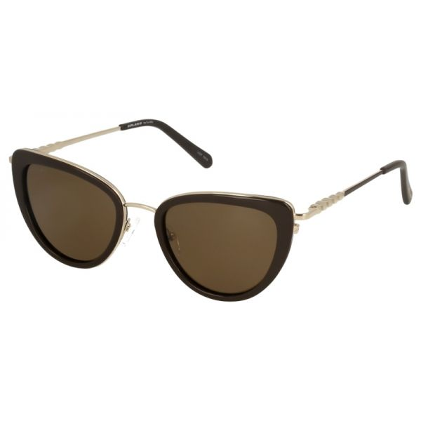 damskie okulary przeciwłoneczne z polaryzacją solano ss 20868 c