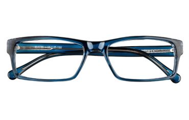 Oprawki okulary korekcyjne Matin kolor granatowy na transparentnym