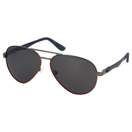 męskie okulary przeciwłoneczne z polaryzacją solano ss 10317 dgunmetal granat czerwony