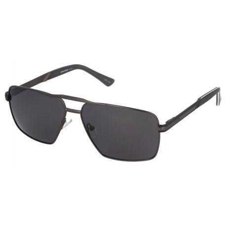 męskie okulary przeciwłoneczne z polaryzacją solano ss 10318 b gunmetal z antyrefleksem