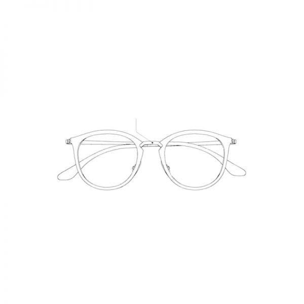 mostek do okularów ray-ban wayfarer folding rb 4105