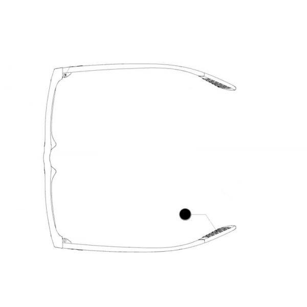 ozdoba końcówki zausznika do oprawek ray-ban rb 7025