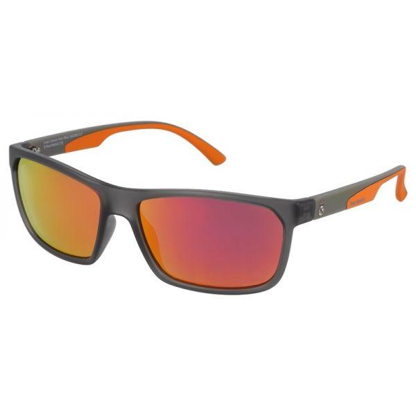 okulary przeciwsłoneczne real madrid rms 20001 c czarne pomarańczowe lustrzanki