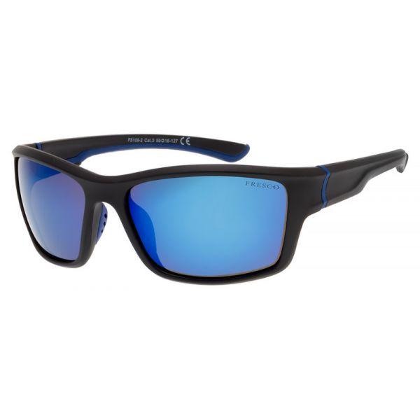 sportowe okulary przeciwsłoneczne z polaryzacją Fresco FS 109-1 czarne