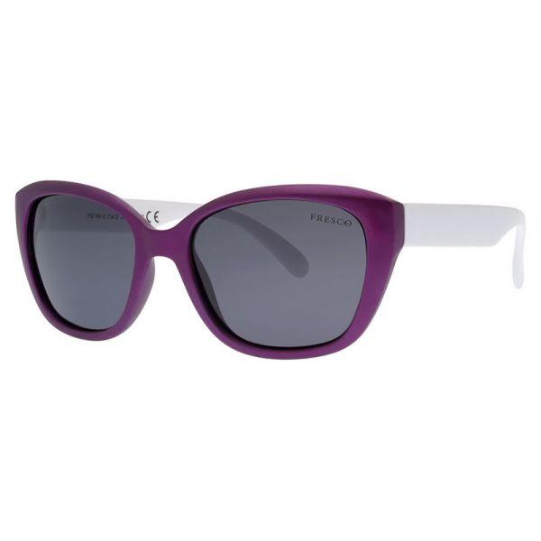 dziewczęce okulary przeciwsłoneczne z polaryzacją Fresco FS 746-2 fioletowe