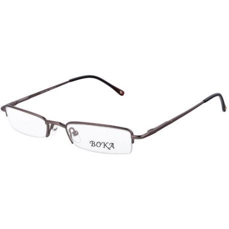męskie oprawki okulary połówki do czytania korekcyjne Boka 364 col. c3 grafitowe
